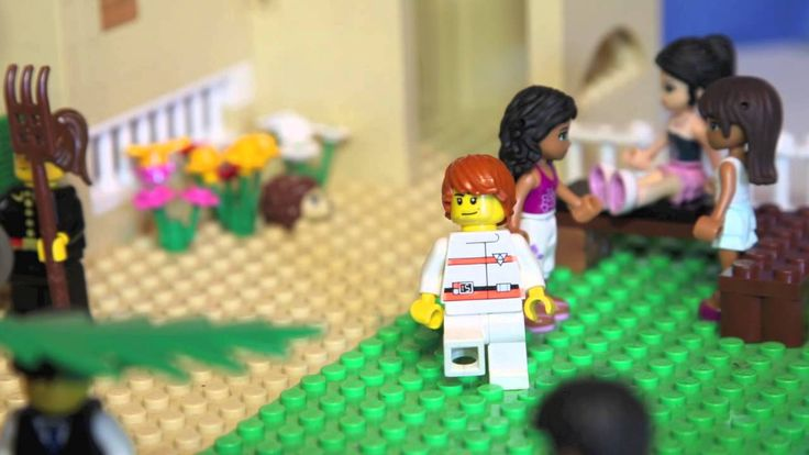 LEGO-pääsiäistarina, Pietari kieltää Jeesuksen
