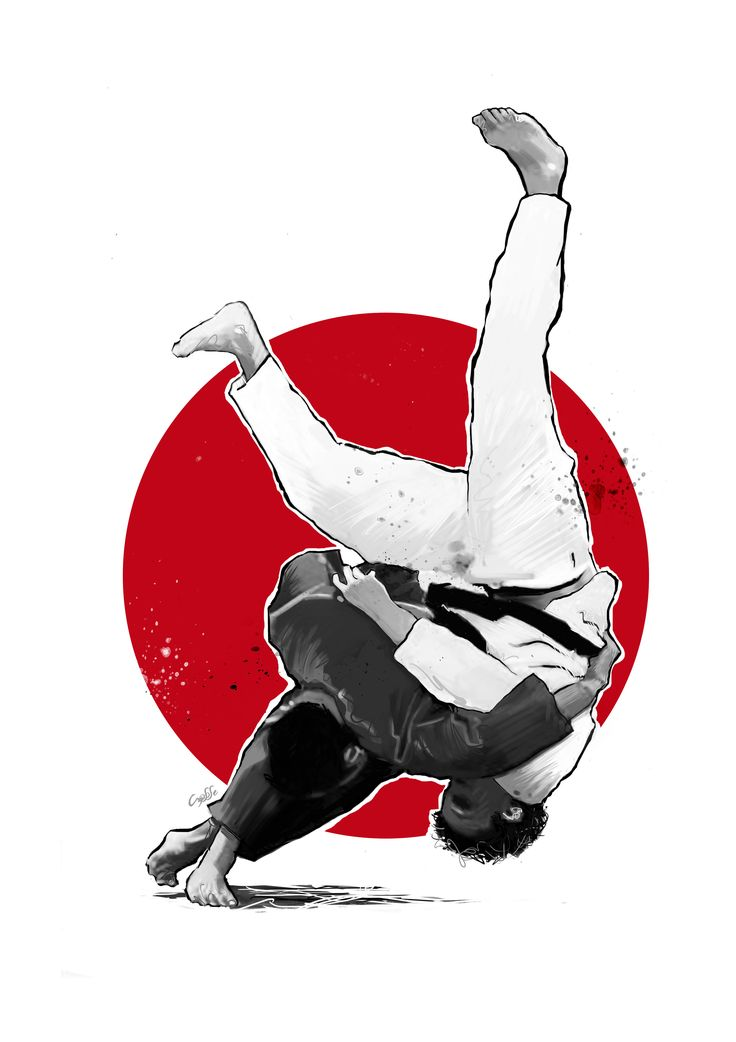 judo by crysse (serie Tshirts)