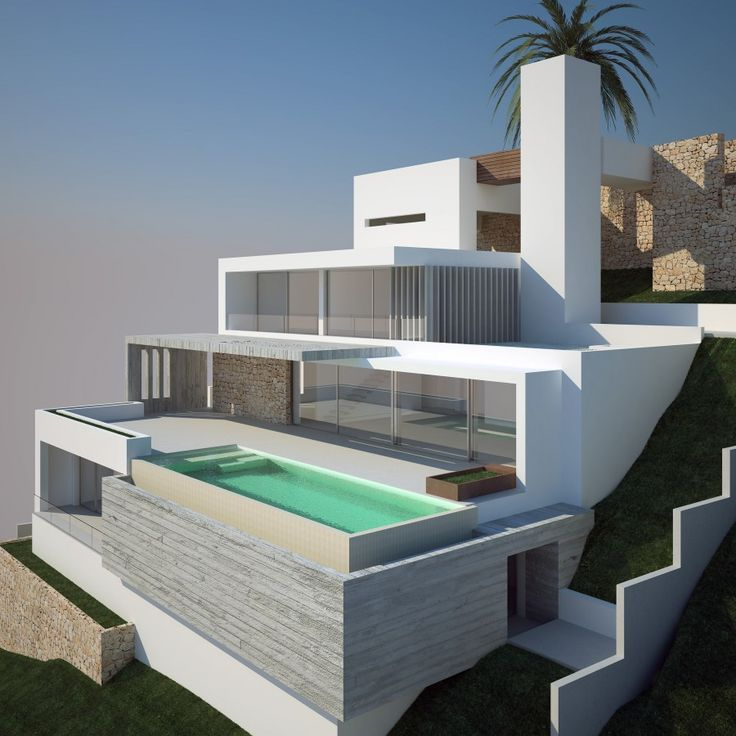 Beautiful Modern House And Pool