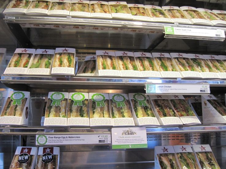 Pret a Manger Sandwich Chain - We NEED this in Boston!!