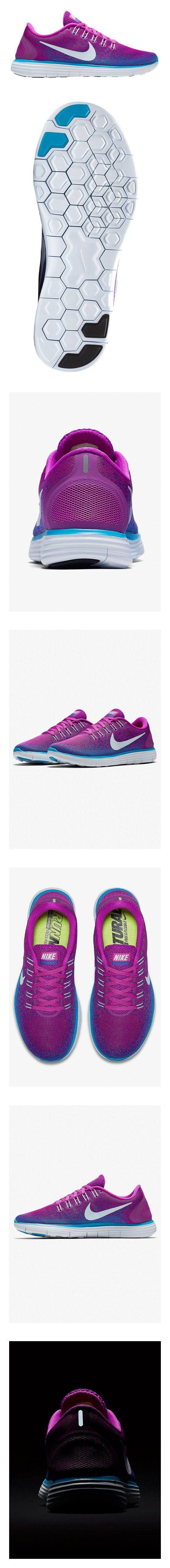 $460.61 - Nike Women's Free RN Distance - HYPR VOLT/BL TINT-FIERCE PRPL-BL LAGOON - 6.5 #shoes #nike #2016