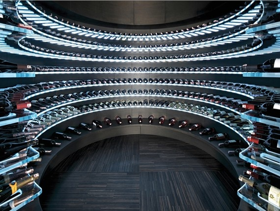 "Wine Cellar of the Future.  www.LiquorList.com  ""The Marketplace for Adults with Taste"" @LiquorListcom   #LiquorList"