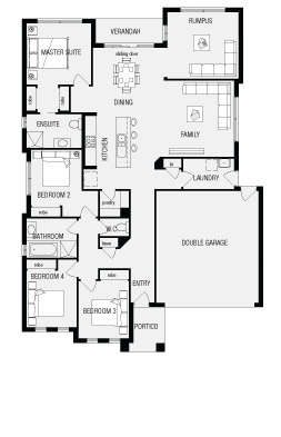 Mantra, New Home Floor Plans, Interactive House Plans - Metricon Homes - South Australia