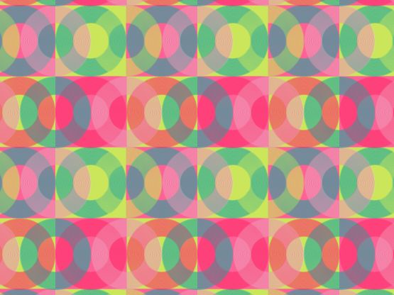 """The 80's"" by Tzadkiel 80s, Eighties, circles, cyan, fuchsia, glow, gray, grey, hot, lime"