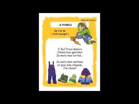 Je m'habille - Comptine enfants - Gribouille - YouTube