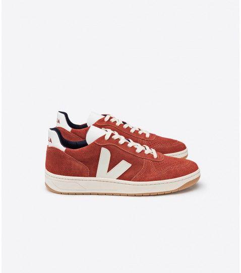 531129812185c Veja V-10 sneaker in organic cotton