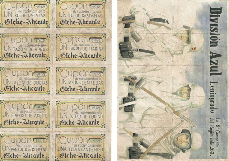 Cupones de racionamiento sin cortar DIVISION AZUL LENINGRADO 1942 | Monedas y billetes, Billetes españoles, 1936-1950 | eBay!