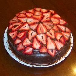 Veganistische chocoladecake