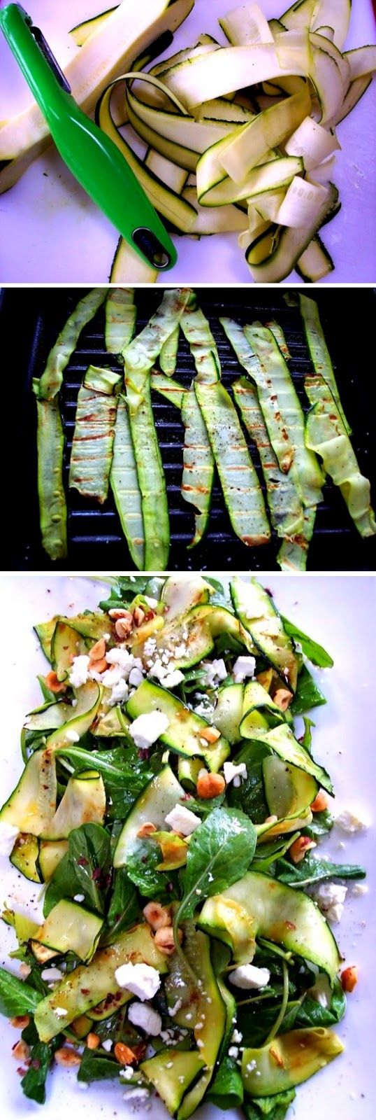 Selected Best Photos : Zucchini Ribbon Salad