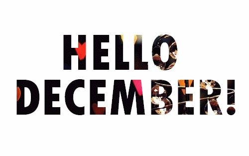 Hello December quotes quote gifs cool funny gifs winter christmas gifs