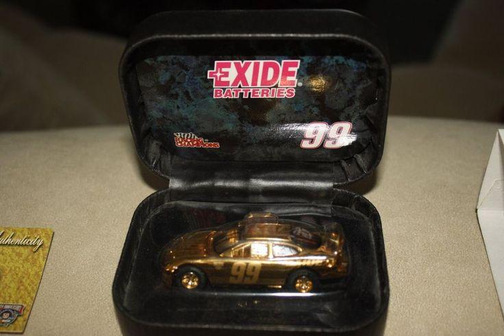 Jeff Burton #99 1998 Exide Racing Champions 24 K Gold 1:64 Diecast #RacingChampions #Ford