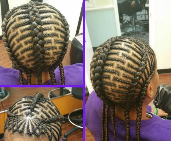 Natural Hair Braiding Styles For Kids: 519 Best Images About Love The Kids! Braids,twist And