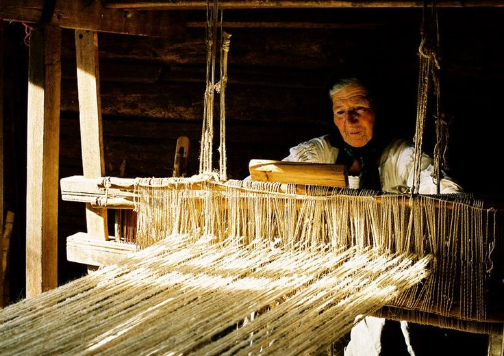 Weaving -the traditional way