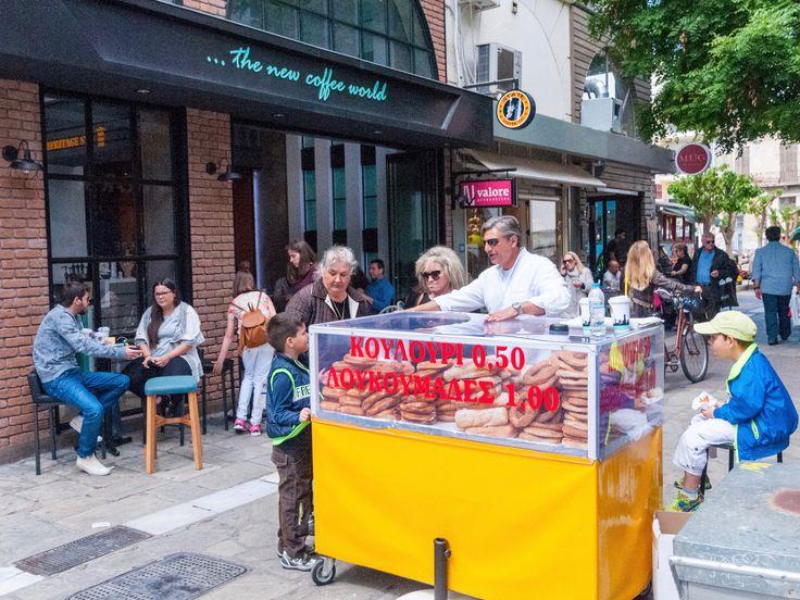Street food in de straten van Pilion