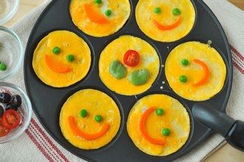 Smile omelet