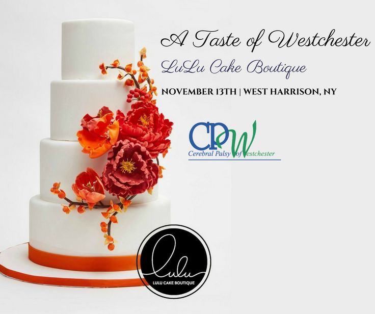 We are excited to have Lulu Cake Boutique as one of the participants at CPW's A Taste of Westchester!  A #WestchesterNY Food & Wine event that features over 30 of the area's finest restaurants & top chefs noted for their cuisine as well as a worldly selection of wine, beer and spirits from different beverage establishments.   The event will take place at the Renaissance Westchester Hotel in West Harrison, NY on Monday, November 13, 2017 at 6:15pm.  Get your tickets today…