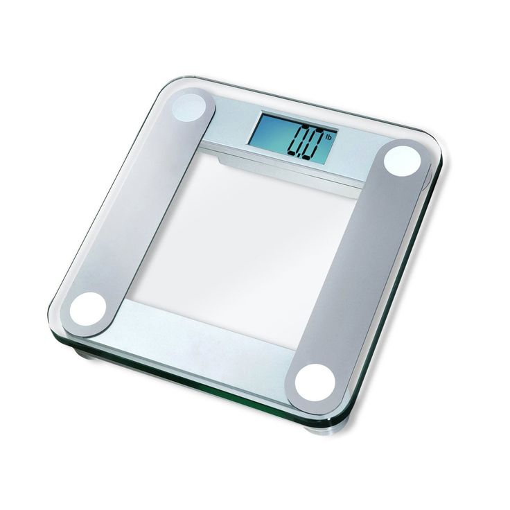 Eatsmart Precision Digital Bathroom Scale W Extra Large Lighted Display 400 Lb Capacity And