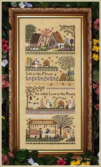 The Victoria Sampler - Cross Stitch Patterns & Kits