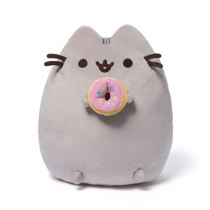 "Pusheen with Donut 9.5"" Plush # 4048871 Gund  IN STOCK #GUND"