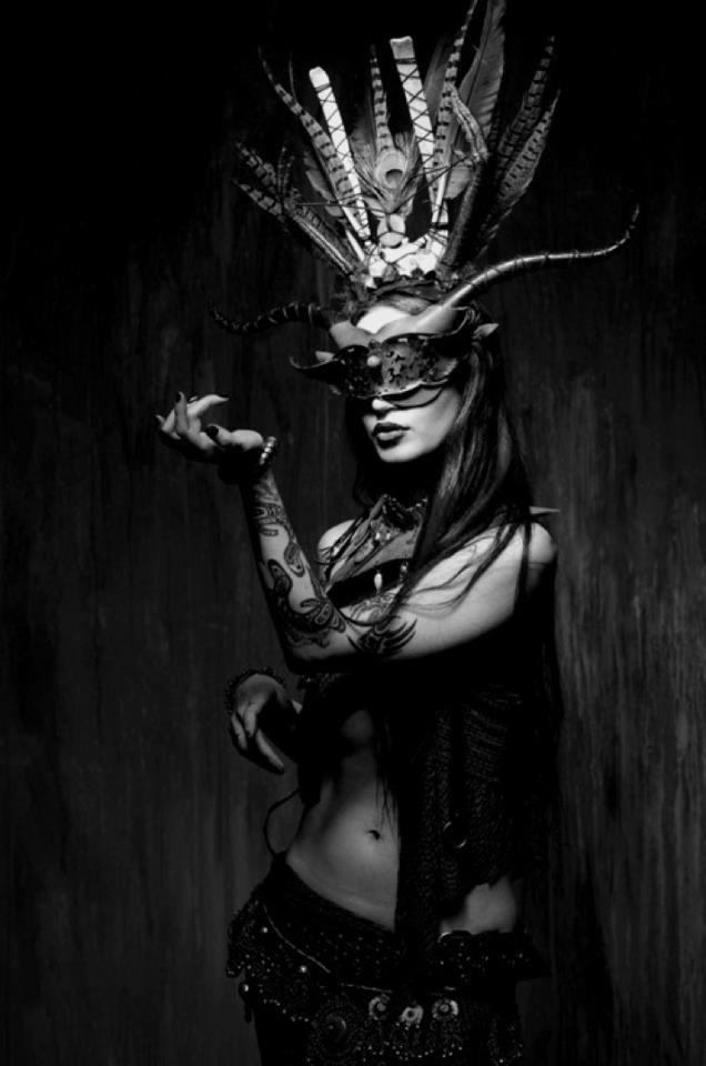 hrnd msk (With images) Gothic beauty magazine, Gothic