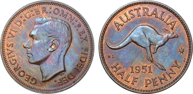 1951 London Halfpenny toned FDC, a mere handful issued. Lot: 1395. Estimate: $12,500