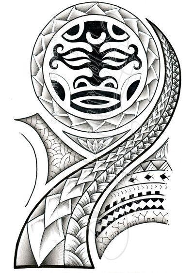 Polynesian 3/4 sleeve 02-A by dfmurcia