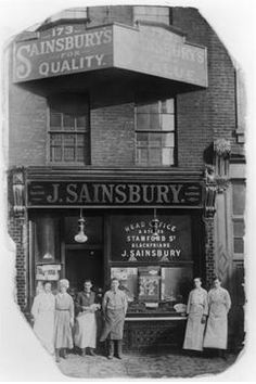 1869: John James and Mary Ann Sainsbury open their first retailer in Drury Lane, London