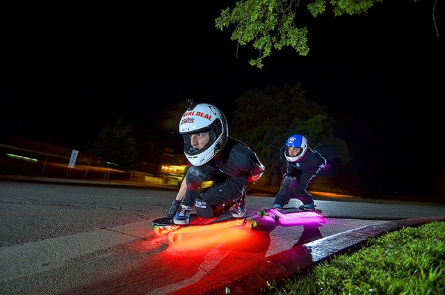 Night #Longboard Racing by Chris Hultner, via Flickr