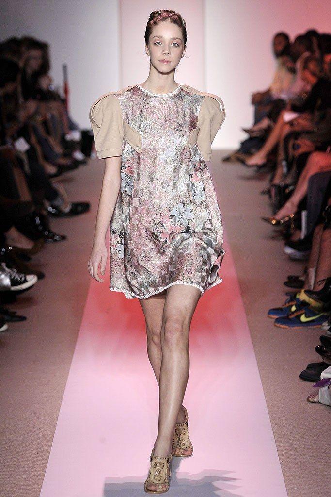Alexandre Herchcovitch Spring 2009 Ready-to-Wear Fashion Show - Nathalie Edenburg