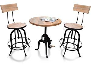 Vintage Sofabord - k�b et rundt sofabord i vintage look #Sofabord #Cafe Bord  indieliving.dk