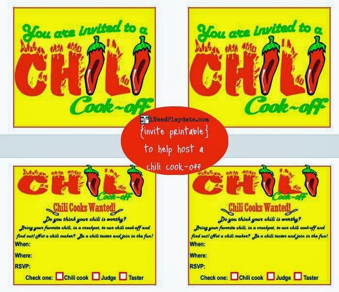 Hosting A Chili Cook Off In 5 Easy Steps With Printables INeed A Playdate Northeast Ohio Mom