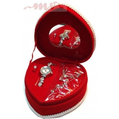 Set bijuterii dama inimioara