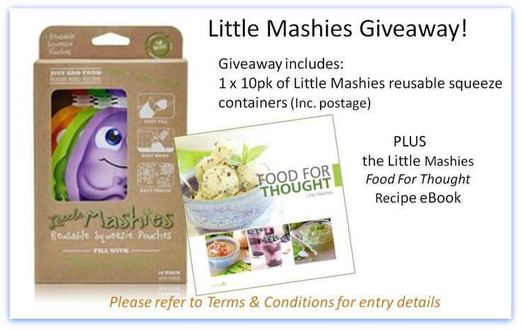 Christmas Food Giveaways Little Mashies Giveaway!! www.allergysave.com