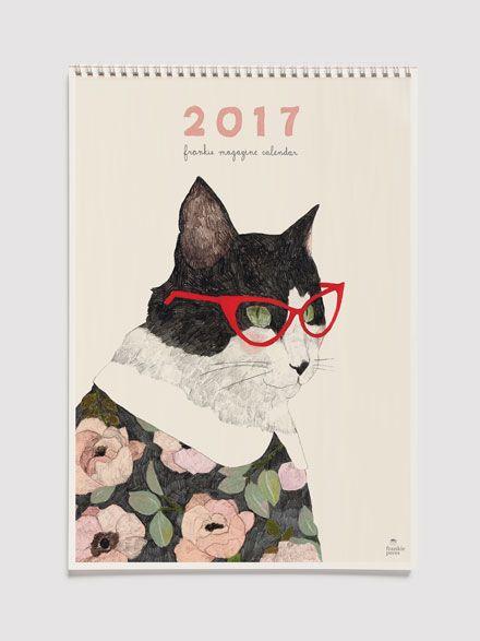 frankie calendar 2017
