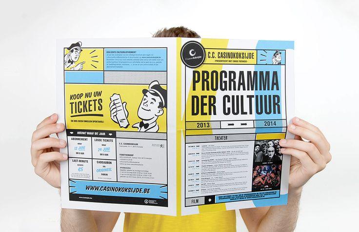 CC Casino Koksijde - Leaflet | by Skinn Branding Agency