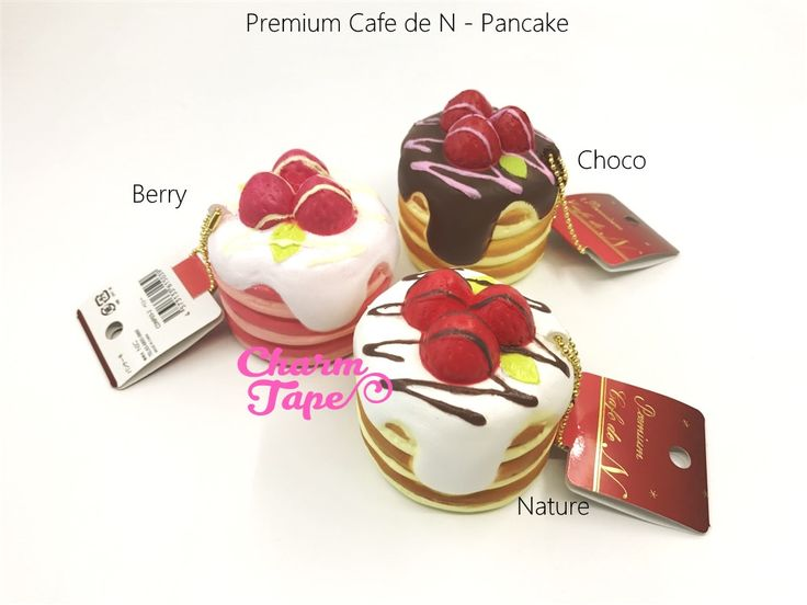 Premium Cafe de N Pancake squishy cellphone charm   #squishies #squishy #cafe #cute #kawaii #Japan #slowrising #slowrise #slowrisingsquishy #slowrisesquishy #stressrelease #stressball  #charmtape  #cake #dessert #cafeden #cafedensquishy #premiumcafedn #premium #pancake #strawberry #chocolate #japanonly #vanilla  $13.95 buy from http://www.charmtape.com