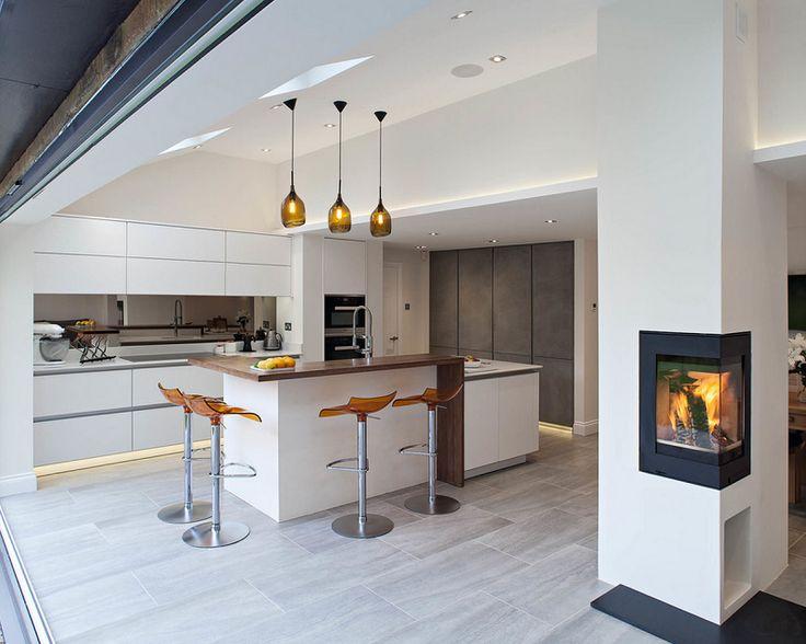 Scandinavian Design Kitchen In London