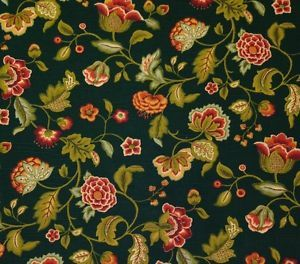 FLORAL FABRICS WITH VINING | RICHLOOM-MYSTERY-GROTTO-GREEN-FLORAL-VINE-MULTIUSE-FABRIC-BY-THE-YARD ...