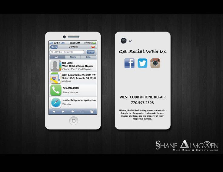 34 best business cards images on pinterest business cards carte iphone business card colourmoves Choice Image