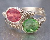 handcrafted wire wrapped rings#Repin By:Pinterest++ for iPad#
