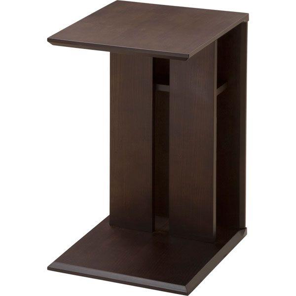 縦・横どちらでも置ける天然木サイドテーブル(エンダ 4032 )   ニトリ ...