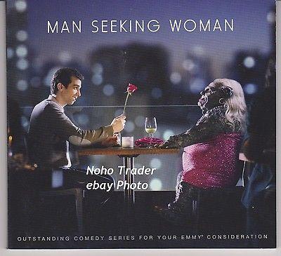 MAN SEEKING WOMAN 2015 EMMY DVD SET PRESSBOOK SEASON 1 Bill Hader Eric Andre op