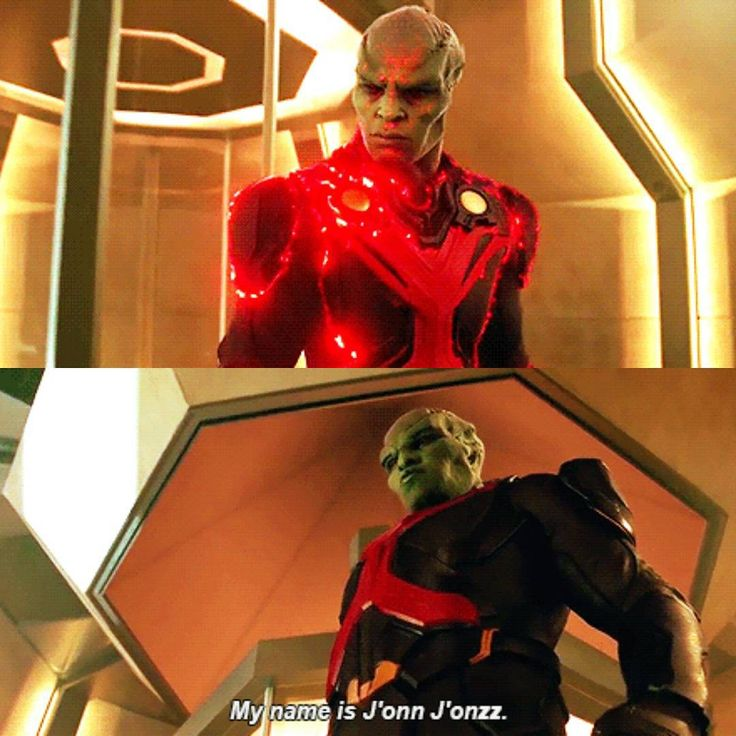 I am the sole survivor of my planet. The Last Son of Mars. My name is J'onn J'onzz.