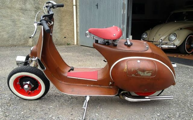 Vespa cafe racer cafe racer scooter pinterest vespa for Vespa cafe racer