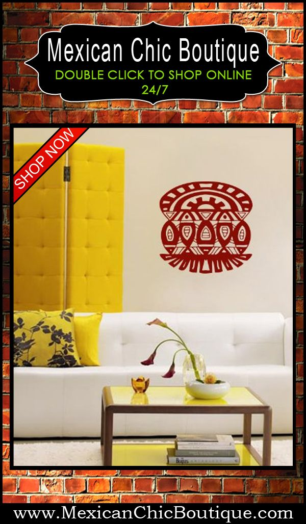 8 best Aztec Mayan Wall Decals images on Pinterest | Arte mexicano ...