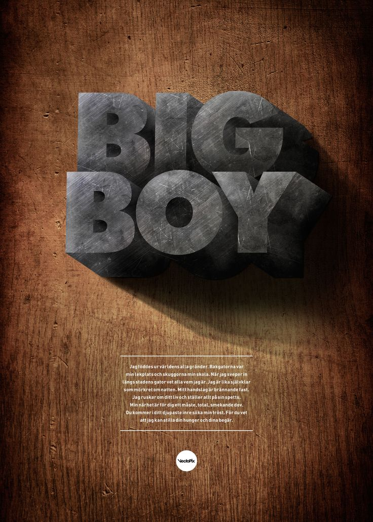 BigBoy poster