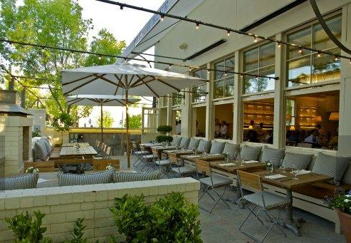 I like the feel of this modern farmhouse style restaurant, designed by Howard Backen. The Polished Pebble: Modern Farmhouse Architecture