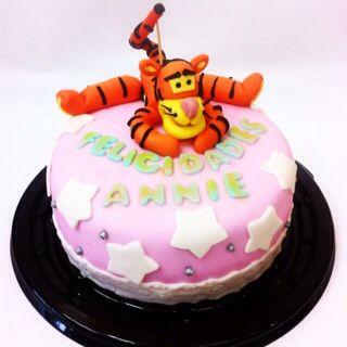 Hermoso pastel de Tigger, totalmente comestible. #tigger #cake