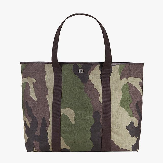 Herve Chapelier shopping bag rectangular base with basic shape, $300Buy it now