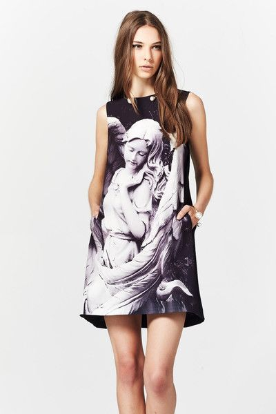 Trelise Cooper Heaven's Wonders of The World Dress at Wendys Boutique